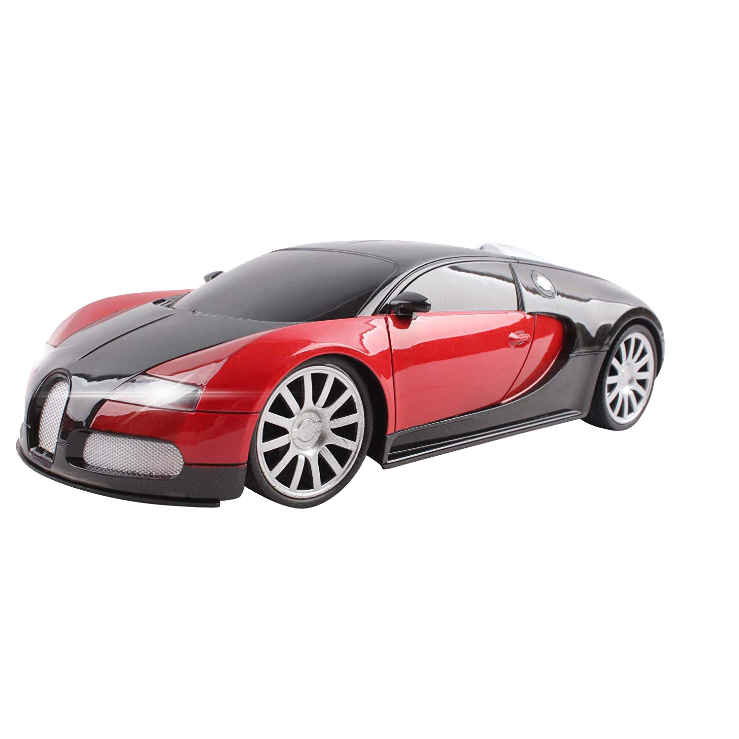 Super Exotic RC Car 1:16 Scale Remote Control Sports Cars For Kids with Working Headlights Easy To Operate Toy Race Vehicle (Color May Vary)