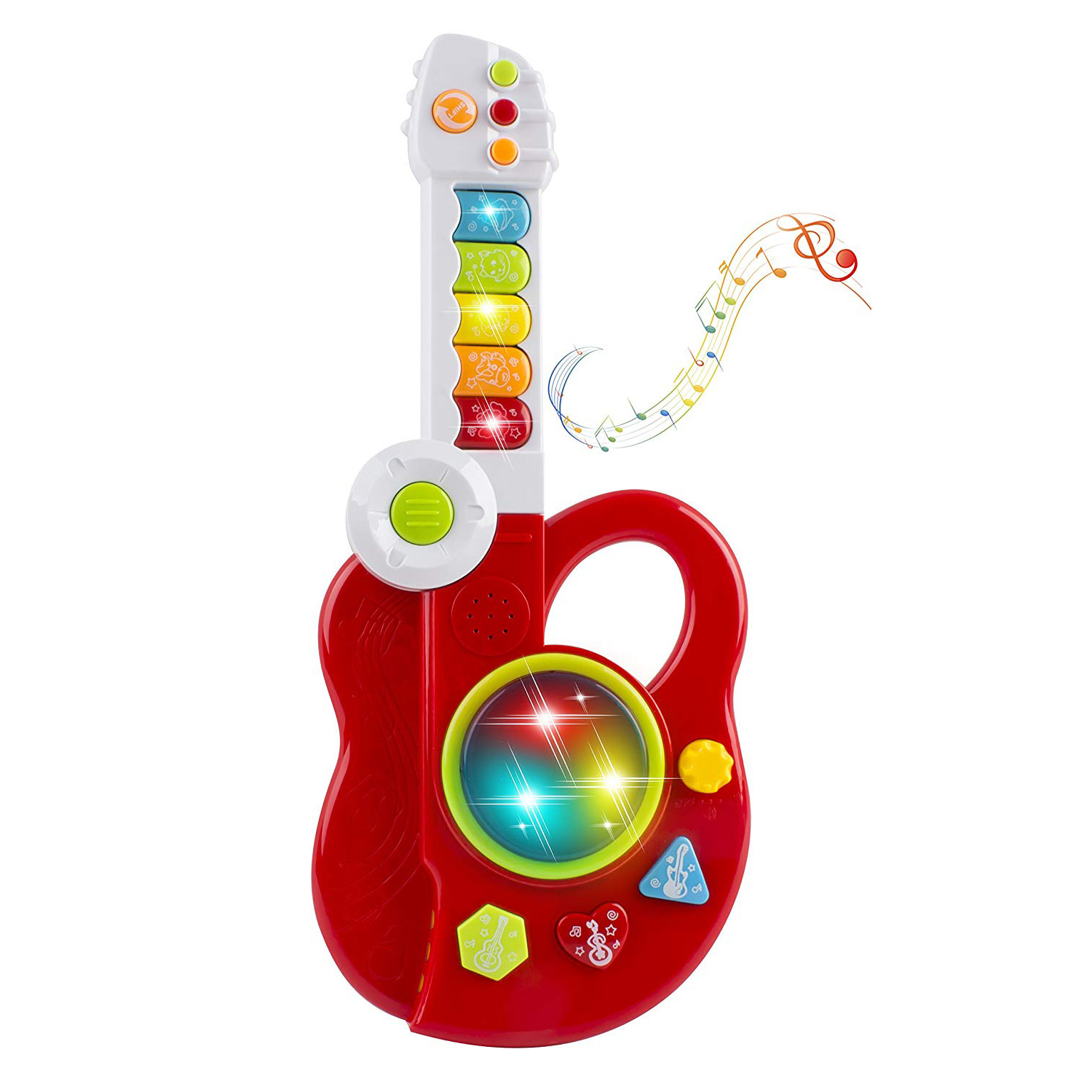 toy musical guitar folding electric