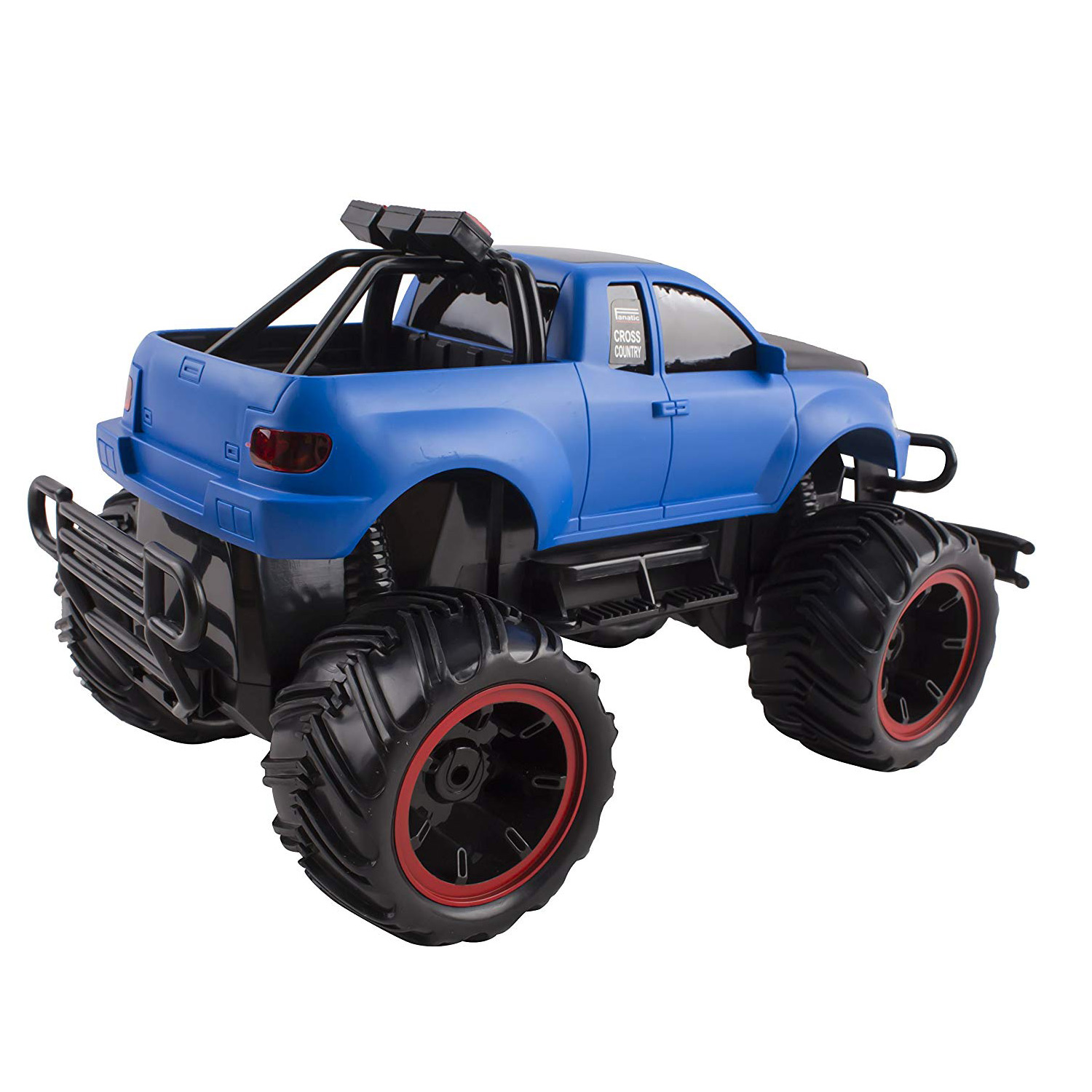 RC Monster Truck Buggy Remote Control Car RTR Electric Truggy Vehicle 116 Large Scale Working Suspension Perfect Kids Off-Road Race Toy Blue
