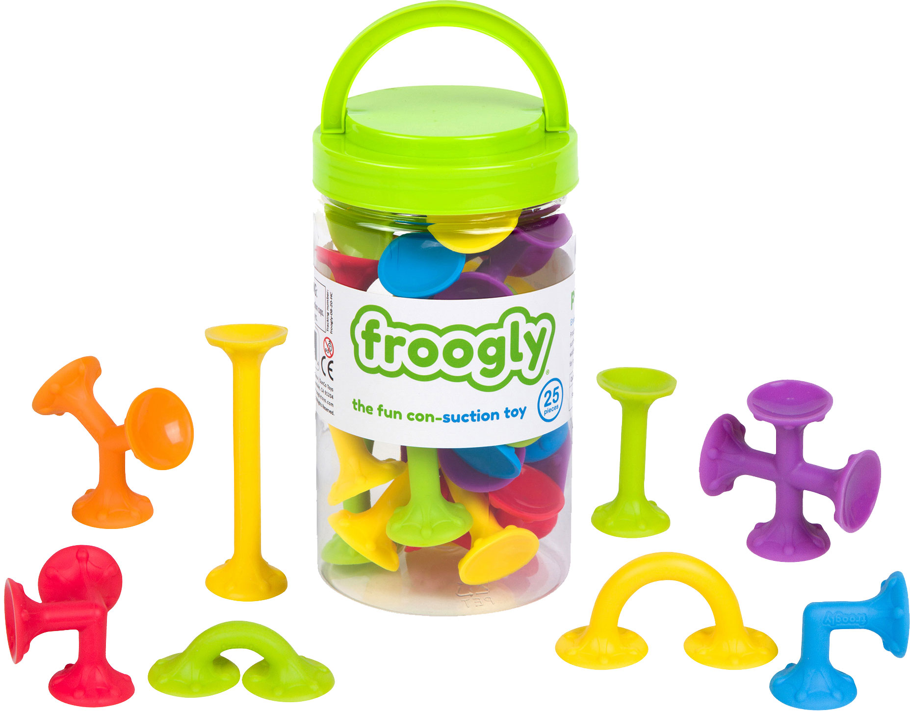 Froogly 25 pcs, innovative design providing stronger suction power
